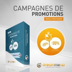 Module Campagnes de Promotions Prestashop